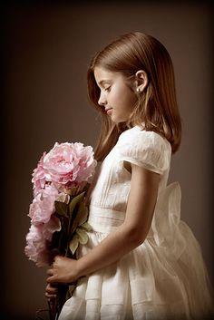 . Precious Children, Beautiful Children, Fine Art Photography, Portrait Photography, Little Girl Photos, Old Portraits, Kid Poses, Communion Dresses, First Communion