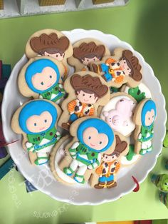 Toy Story / Candy Bar / Party Theme / Sugar cookies