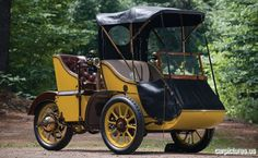 1913 AC Sociable Runabout, unusual arrangement...Driver position appears to be right rear seat....