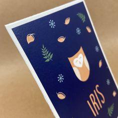 Liefde voor de natuur vormt de rode (of groene ;D) draad voor de basis van het geboortekaartje voor Iris, het geboortekaartje van grote broer Thijmen en de trouwkaart van mama & papa (op groeipapier). #groengeboortekaartje #bosdieren #kartelrandje #geboortekaartje #liefdevoornatuur