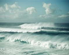Ocean - love it all, the colors, the total feel of the ocean...... ahhhhh, now where's my wine??