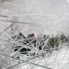 Snowflake by Tokujin Yoshioka for Kartell