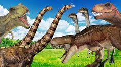 Dinosaurs Finger Family Children Nursery Rhymes | Dinosaurs Cartoon For ...