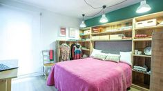 Dormitorio con vestidor a la vista vídeo programa completo paso a paso Decogarden
