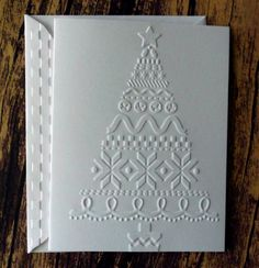 Your place to buy and sell all things handmade Country Christmas Trees, Christmas Greeting Cards, Christmas Greetings, White Christmas, Country Quilts, Embossing Machine, Etsy Shipping, Halloween Cards, Card Sizes
