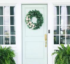2018 Front Door Paint Colors: Popular Paint Colors Right Now Fixer Upper Paint Colors, Front Door Paint Colors, White Paint Colors, Painted Front Doors, Interior Paint Colors, Paint Colors For Home, White Paints, Wall Colors, Grey Paint