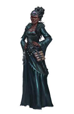 Female Human Wizard or Medium - Pathfinder PFRPG DND D&D 3.5 5th ed d20 fantasy