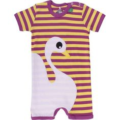 Combi short cygne coton bio bebe enfant freds world by green cotton