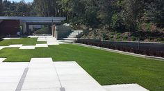 A Lawn for a Driveway - Drive on turfgrass sod with Drivable Grass permeable pavers