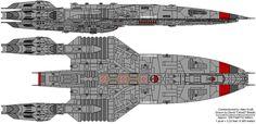 png photo by CanisD Spaceship 2, Spaceship Concept, Stargate, Capital Ship, Sci Fi Ships, Modern Tech, Dungeon Maps, Bridge Design, Battlestar Galactica