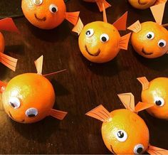 """Nemo Fish Oranges for O""""fish""""ally ONE birthday party"""