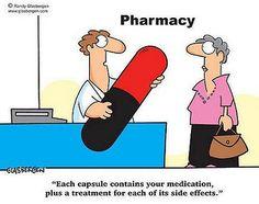 How To Become A Pharmacist: 13 Drug Side Effects Pharmacists Laugh At Pharmacy Humor, Medical Humor, Nurse Humor, Pharmacy Technician, Funny Medical, Pharmacy School, Chronic Fatigue Syndrome, Chronic Pain, Chronic Illness