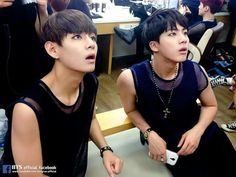 15th of February. 2016   Sleeveless Taejin.  Today was funny. I hope you're well!