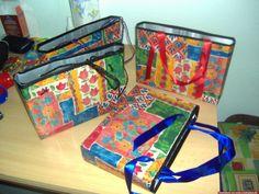 Tetrapacktaschen Lunch Box, Diy Home Crafts, Diy, Bento Box