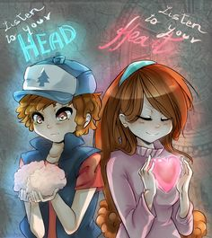 This basically describes Dipper and Mabel