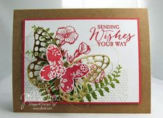Stampin' Up! Demonstrator in Overland Park, KS sharing ideas and techniques for creating handmade cards, gifts and scrapbooking through Stamp Clubs, Classes and tutorials. Butterfly Flowers, Butterfly Cards, Flower Cards, Butterflies, Todays Birthday, Birthday Cards For Women, Stampin Up Catalog, Stamping Up, Scrapbook Cards