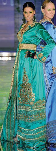 Moroccan caftan.