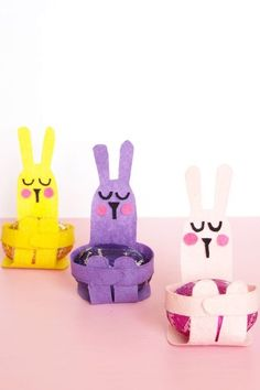 Easter Egg Bunny Hugscountryliving #kidscrafts