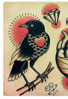 Raven (to go onto anchor)