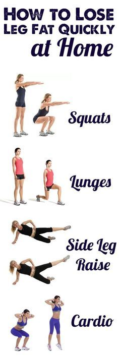 How To Lose Leg Fat Quickly At Home