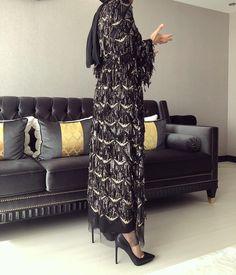 Amazing Outfit Ideas for Every Personal Style Abaya Fashion, Muslim Fashion, Modest Fashion, Casual Hijab Outfit, Hijab Chic, Hijab Abaya, Black Lace Jacket, Hijab Dress Party, Mode Abaya