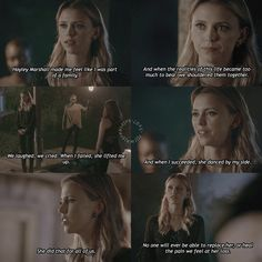 i liked this speech but i wish more than just freya would've said something at either of her funerals #theoriginals #klausmikaelson…