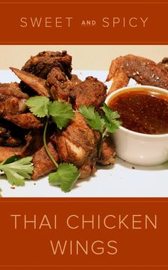Extra-Crispy Thai Sweet And Spicy Wings Recipe — Dishmaps