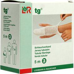 TG Schlauchverband Grösse 3 5 m weiß:   Packungsinhalt: 1 St Verband PZN: 01020223 Hersteller: Lohmann & Rauscher GmbH & Co.KG Preis:…