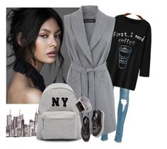 """""""NY"""" by missz ❤ liked on Polyvore featuring Miss Selfridge, Joshua's, STELLA McCARTNEY, women's clothing, women, female, woman, misses and juniors"""