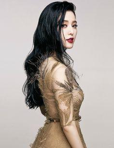 Fan Bingbing by Sun Jun for Vogue Taiwan September 2015 - Valentino Fall 2015 Haute Couture