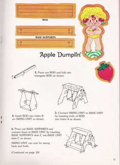 Strawberry Shortcake's Toy Book - 15