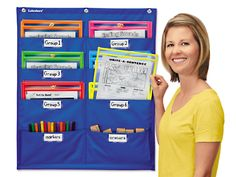 Write & Wipe Pockets Storage Chart at Lakeshore Learning