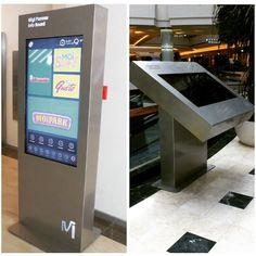 #Solosis #Digitalsignage #Systems  Mall Of Istanbul  Avm'nin kullanımını kolaylaştıracak Digital Signage  kurulumları tamamlandı.  Ayaklı Totem Ekranları ve Kiosk Ekranlar  www.solosis.com.tr
