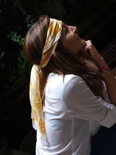 Silk scarf. Visit our online store. We ship world wide. www.amerena.com.mx