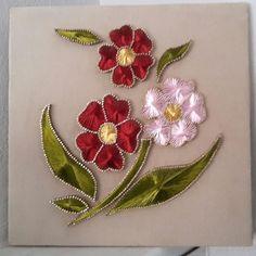 Kursiyer çalışması #filografi#dekorasyon#tasarım#flowers#homedecor#colorful#stringart#style#gül#çiçe - nakkas_hane