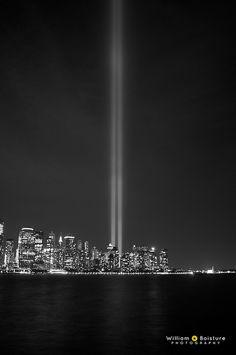 9/11 Tribute in Light - 9/11/2010 by Will Boisture, via Flickr
