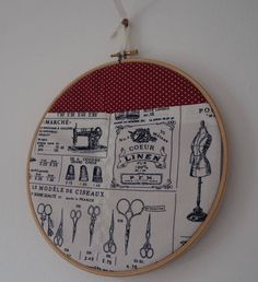 A personal favourite from my Etsy shop https://www.etsy.com/uk/listing/537039117/embroidery-hoop-decoration-sewing-caddy