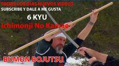 Bojutsu 6ºkyu hira ichimonji no kamae | Bumon | Ninpo