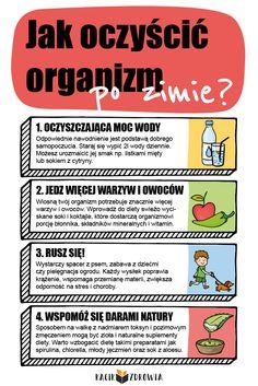 Jak oczyścić organizm po zimie? School Notes, Life Is Strange, Health Advice, Good Mood, Good To Know, Health And Beauty, Healthy Life, Health Fitness, Exercise
