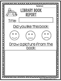 Great way to keep kiddos accountable at their listening center or library center.