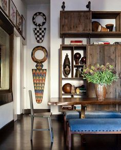 James Huniford Has An Incredible Talent. He Can Take A Space That Is Pretty  Fabulous. African Home DecorAfrican InteriorContemporary ...