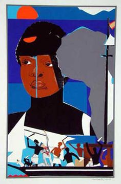 Find the latest shows, biography, and artworks for sale by Romare Bearden. A pioneer of African-American art and celebrated collagist, Romare Bearden seamles… Collages, Collage Artists, Collage Artwork, African American Artist, African Artists, Photomontage, Romare Bearden, Chip Art, Afro Art