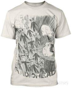 Radiohead - Scribble T-Shirt - AllPosters.co.uk