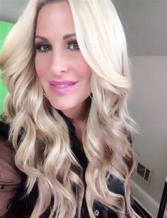 Kim Zolciak Biermann rocks wig, denies plastic surgery rumors   Story   Wonderwall