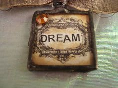 DREAM by victoriacharlotte on Etsy, $10.00