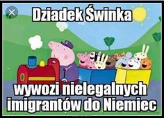 Read Świnka Pepa from the story Memy z bajek. Haha Funny, Hilarious, Lol, Polish Memes, Reaction Pictures, Good Mood, Pranks, Best Memes, Funny Images