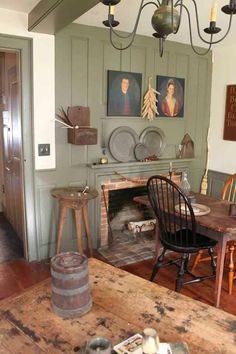 love the look of primitives with French Farmhouse....