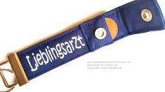 Arzt Geschenk - Schlüsselband: Lieblingsarzt