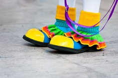 Clown Shoes / For some clowns, being a clown is a serious lifetime profession.