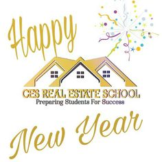 Start Your New Year with A New Career. Become A Real Estate Agent   www.cesrealestateschool.com